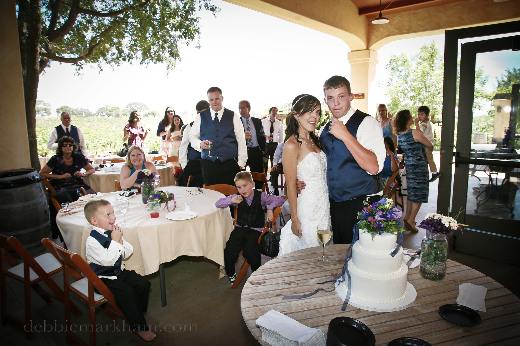 Cambria Photographer Debbie Markham-Paso Robles Wine Country Wedding at Castoro Winery-120