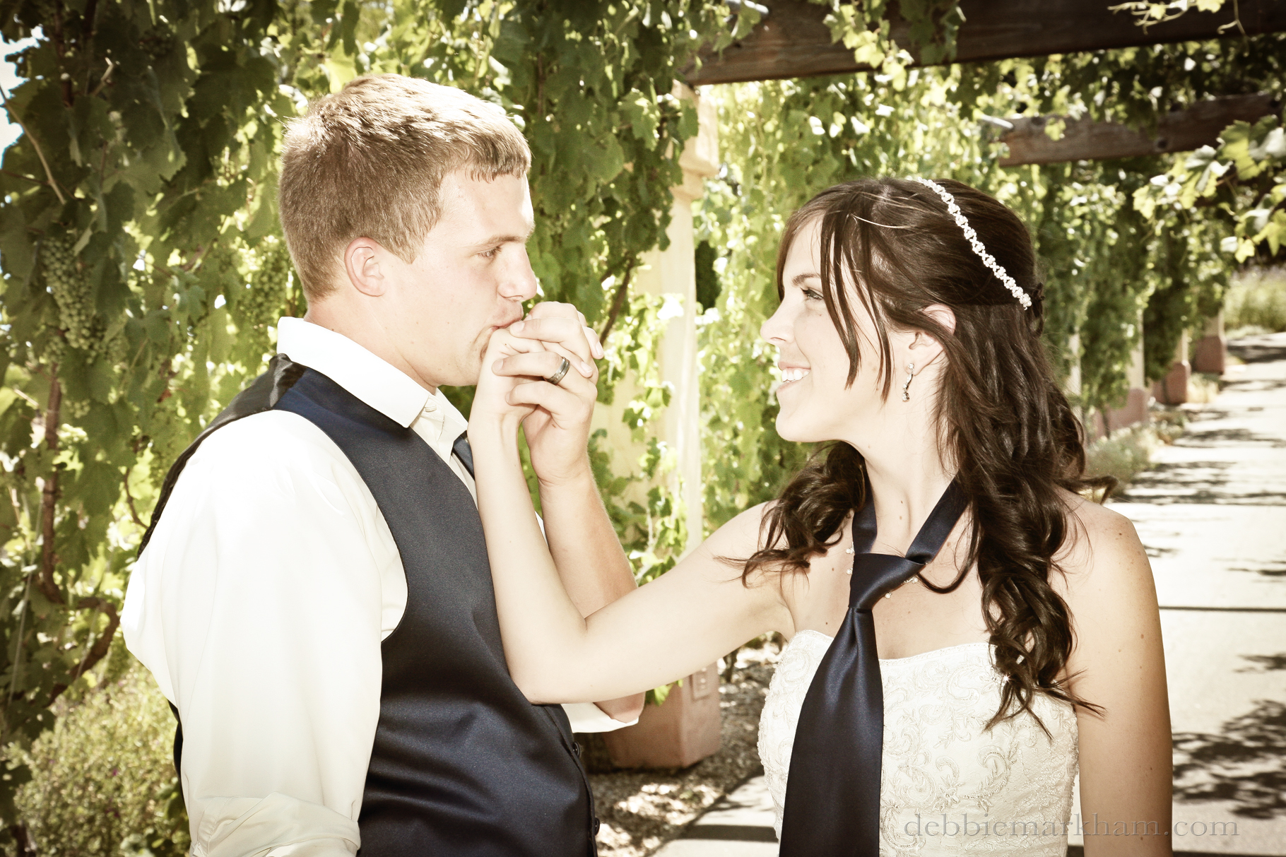 Cambria Photographer Debbie Markham-Paso Robles Wine Country Wedding at Castoro Winery-138