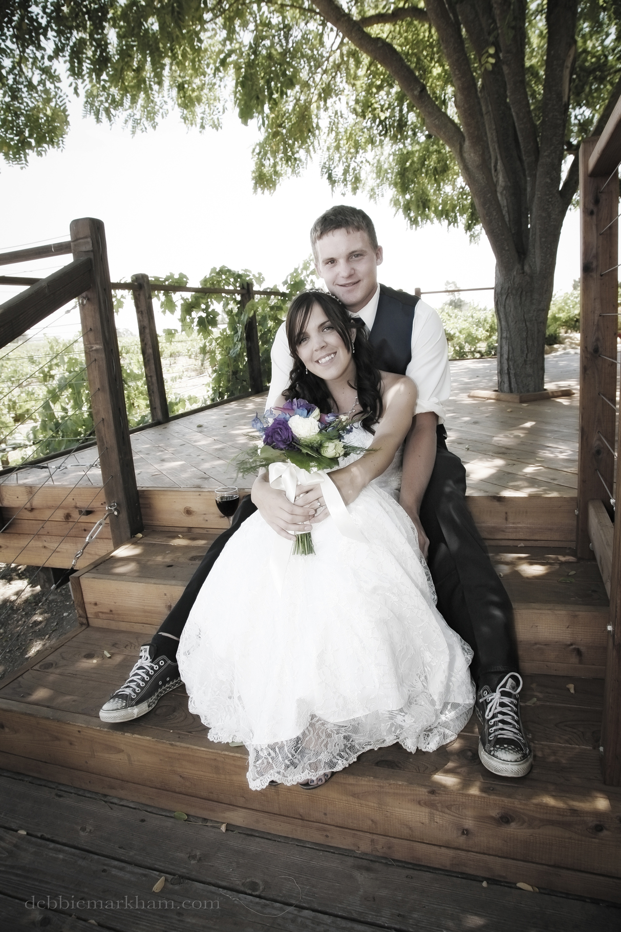 Cambria Photographer Debbie Markham-Paso Robles Wine Country Wedding at Castoro Winery-77