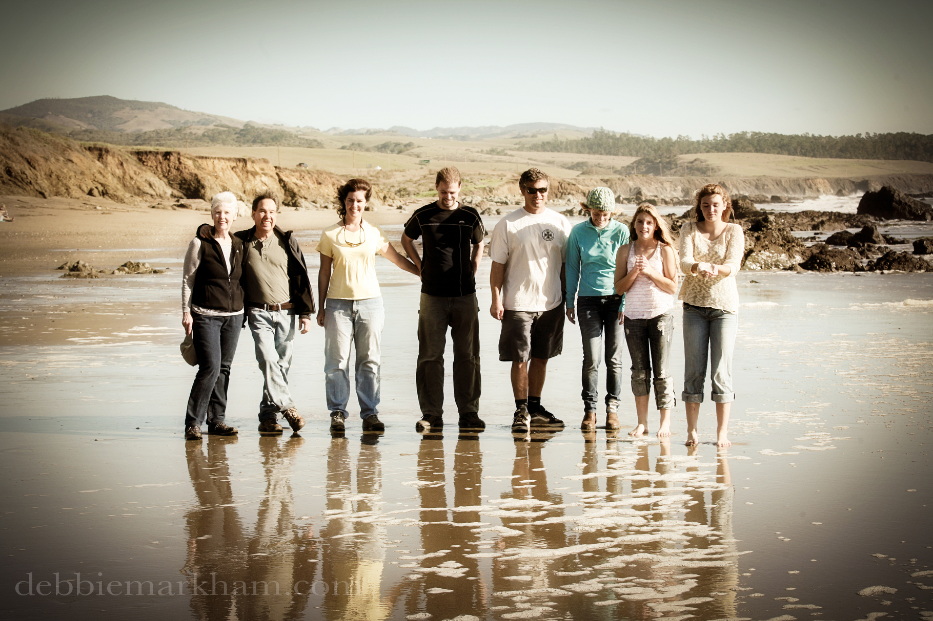 Corbet Family Reunion Photography in San Simeon-Hearst State Beach18
