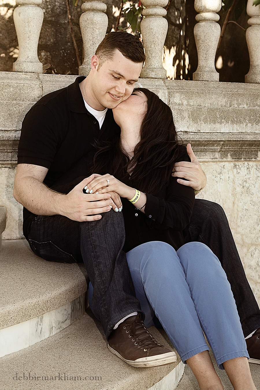 Hearst Castle Secret Marriage Proposal- Photography Cambria Wedding Photographer Debbie Markham12
