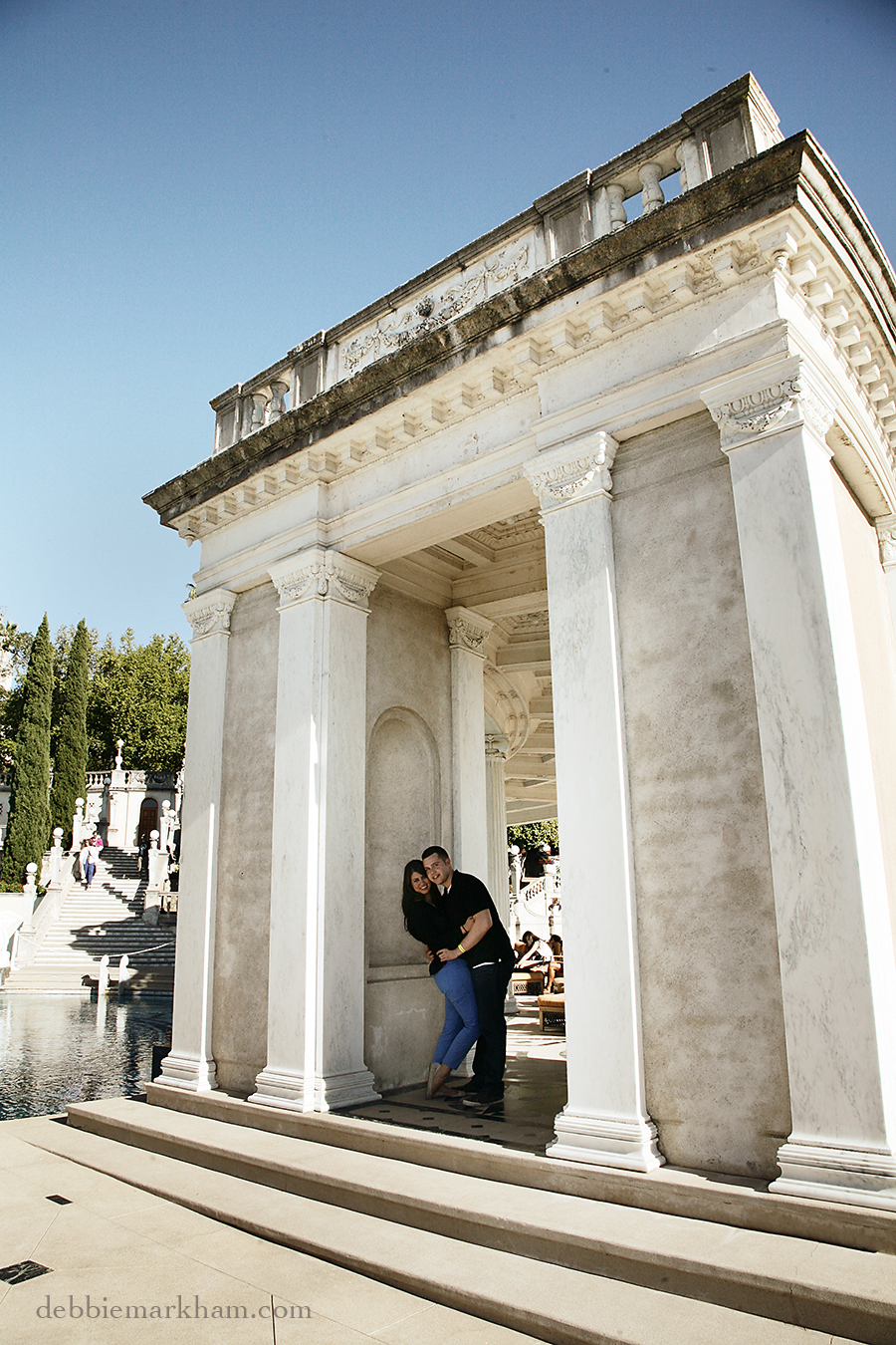 Hearst Castle Secret Marriage Proposal- Photography Cambria Wedding Photographer Debbie Markham17