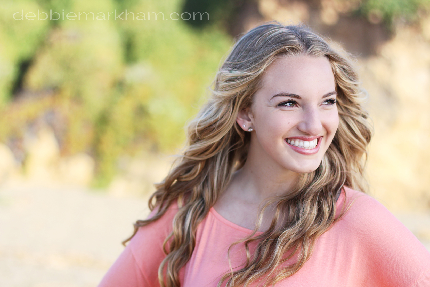 Kendall Senior Portrait on the Beach-Cambria Photographer Debbie Markham