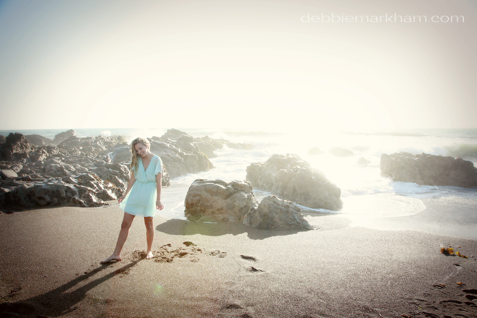 Kendall Senior Portrait on the Beach-Cambria34