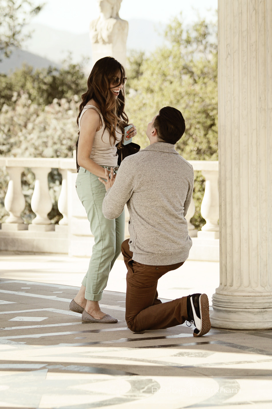Debbie Markham Cambria Photographer-Victor proposes to Alma at Hearst Castle-Engagement SessionIMG_8922