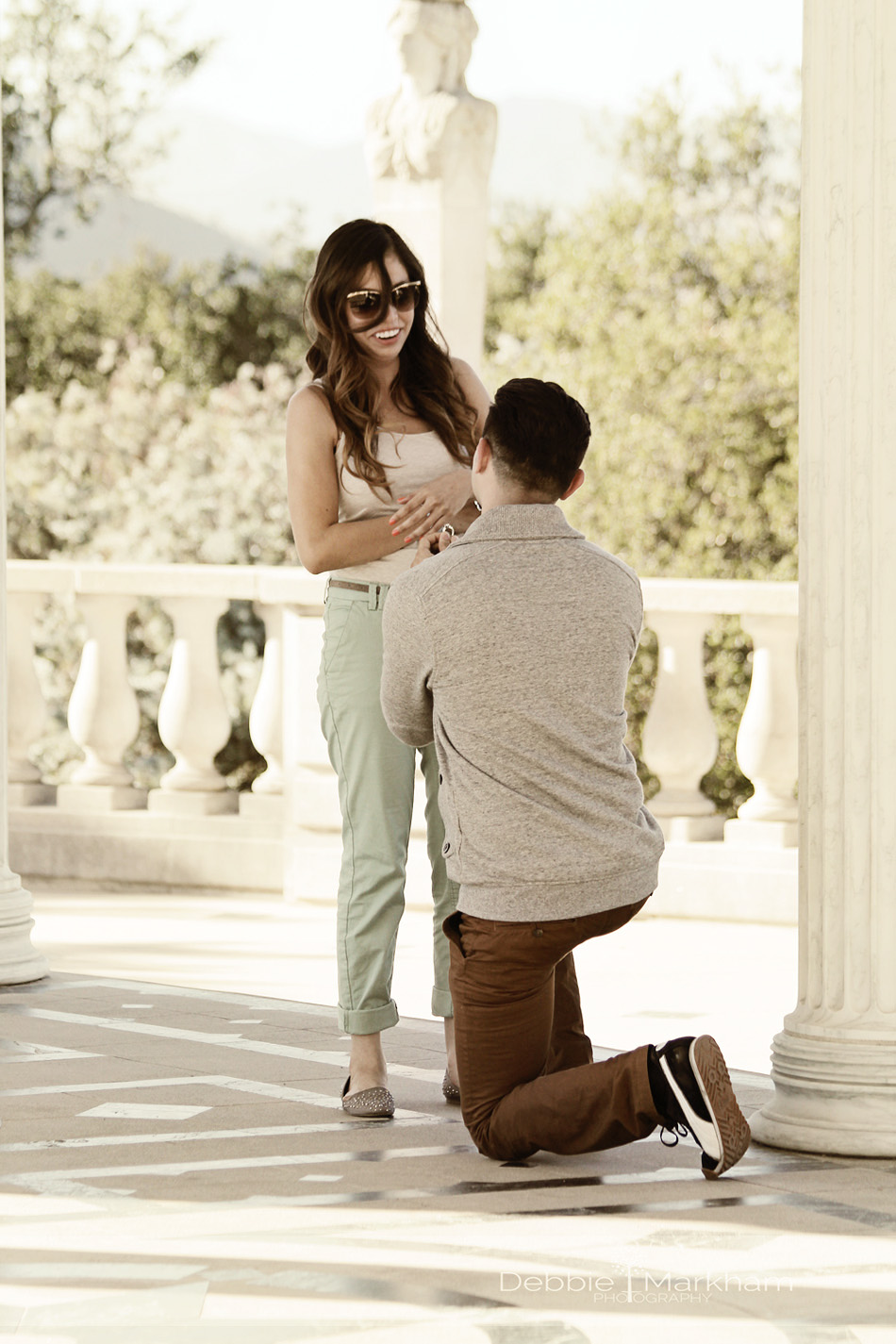 Debbie Markham Cambria Photographer-Victor proposes to Alma at Hearst Castle-Engagement SessionIMG_8925