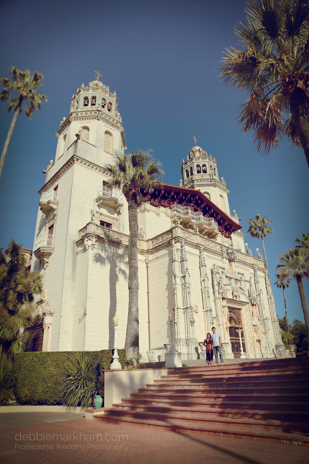Debbie Markham Surprise Engagement Photography at Hearst Castle 319B1526retro warm