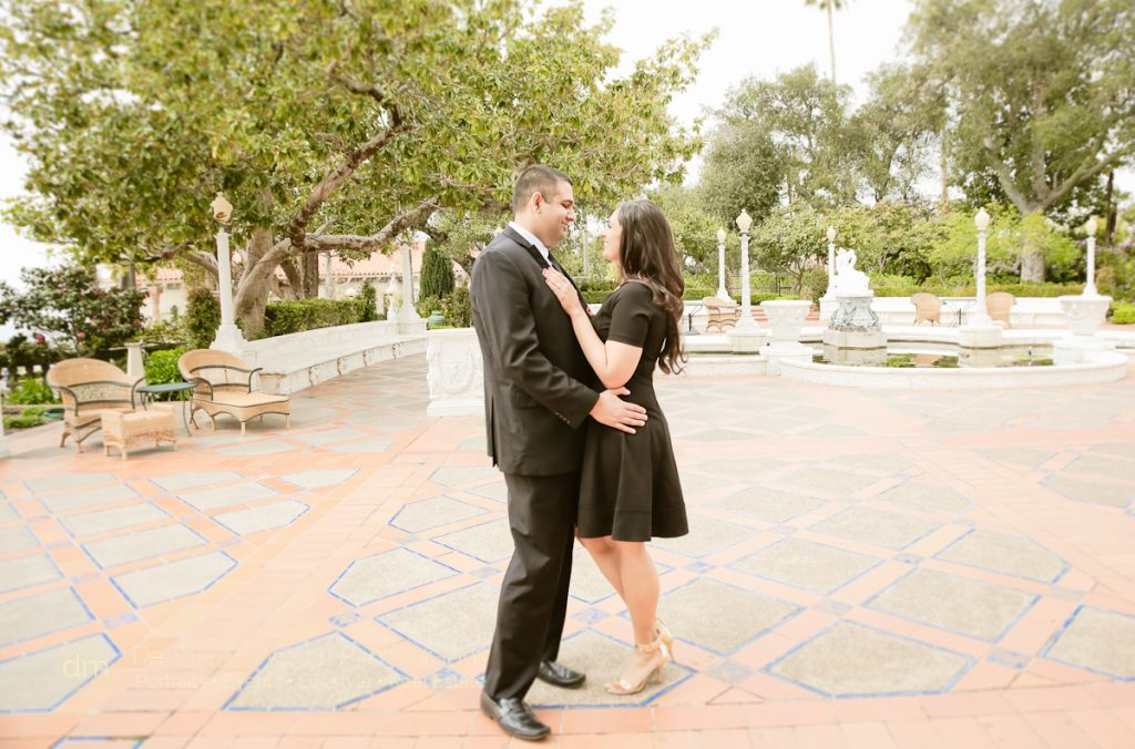 Ricky+Parvi Engaged at Hearst Castle-Engagement Photographer in San Luis Obispo-Cambria-Destination Couples Vacation-Surprise Proposal-3710