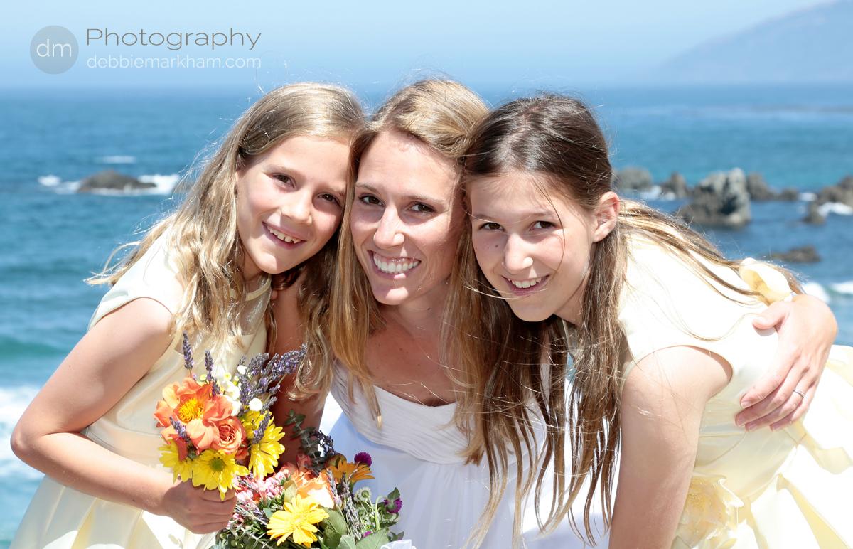 wm-Bride-Flowergirls-Yellow-Dresses-Debbie Markham Wedding Photography-Big Sur-Pacific Valley-Laurel-Brian-June21-2013-055