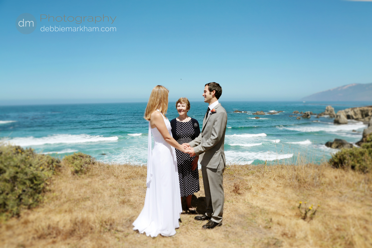 Lauren + Brian } Family Wedding in Big Sur at Pacific Valley ...