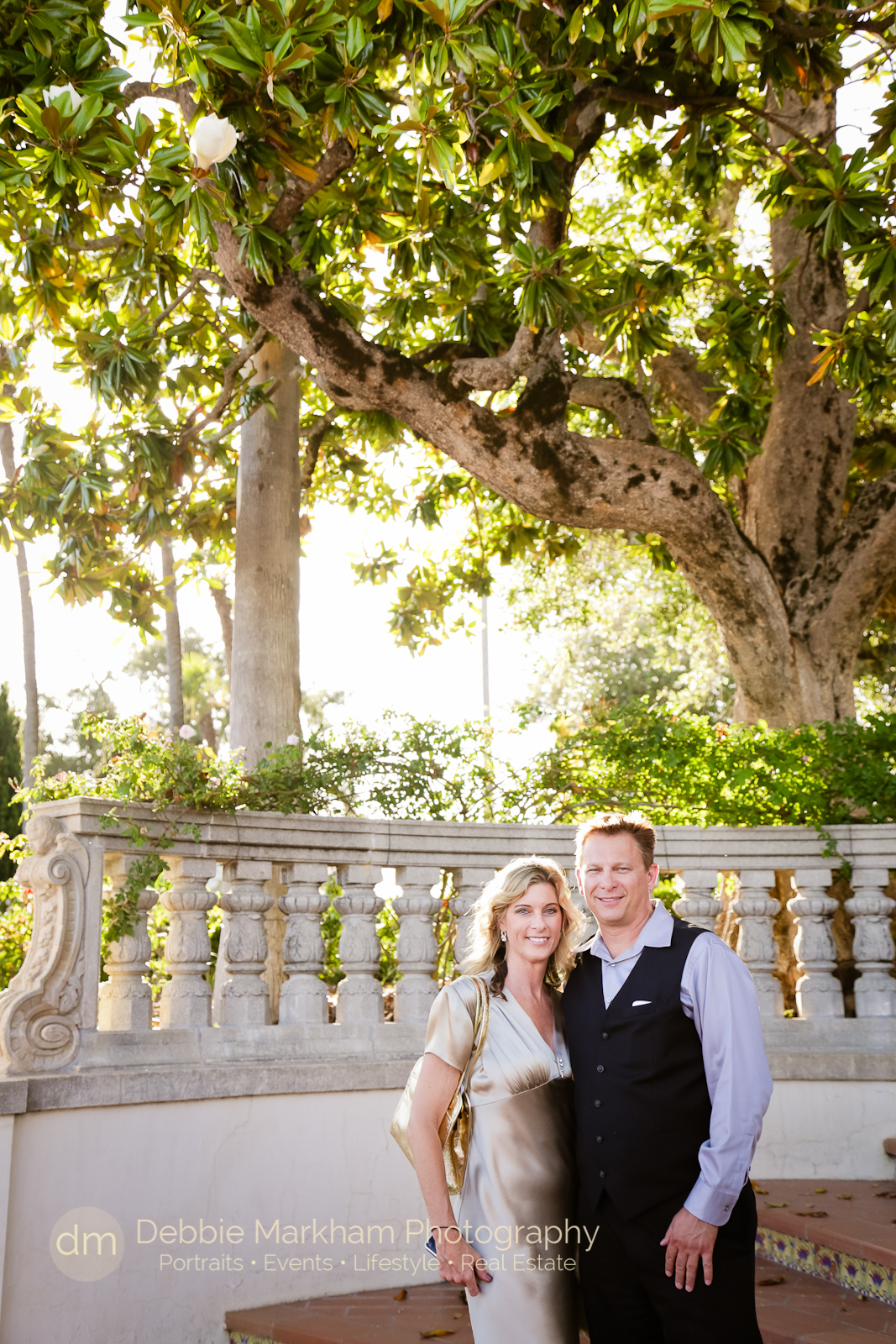 Debbie Markham Photography_Twilight on the Terace_Hearst Castle-1357