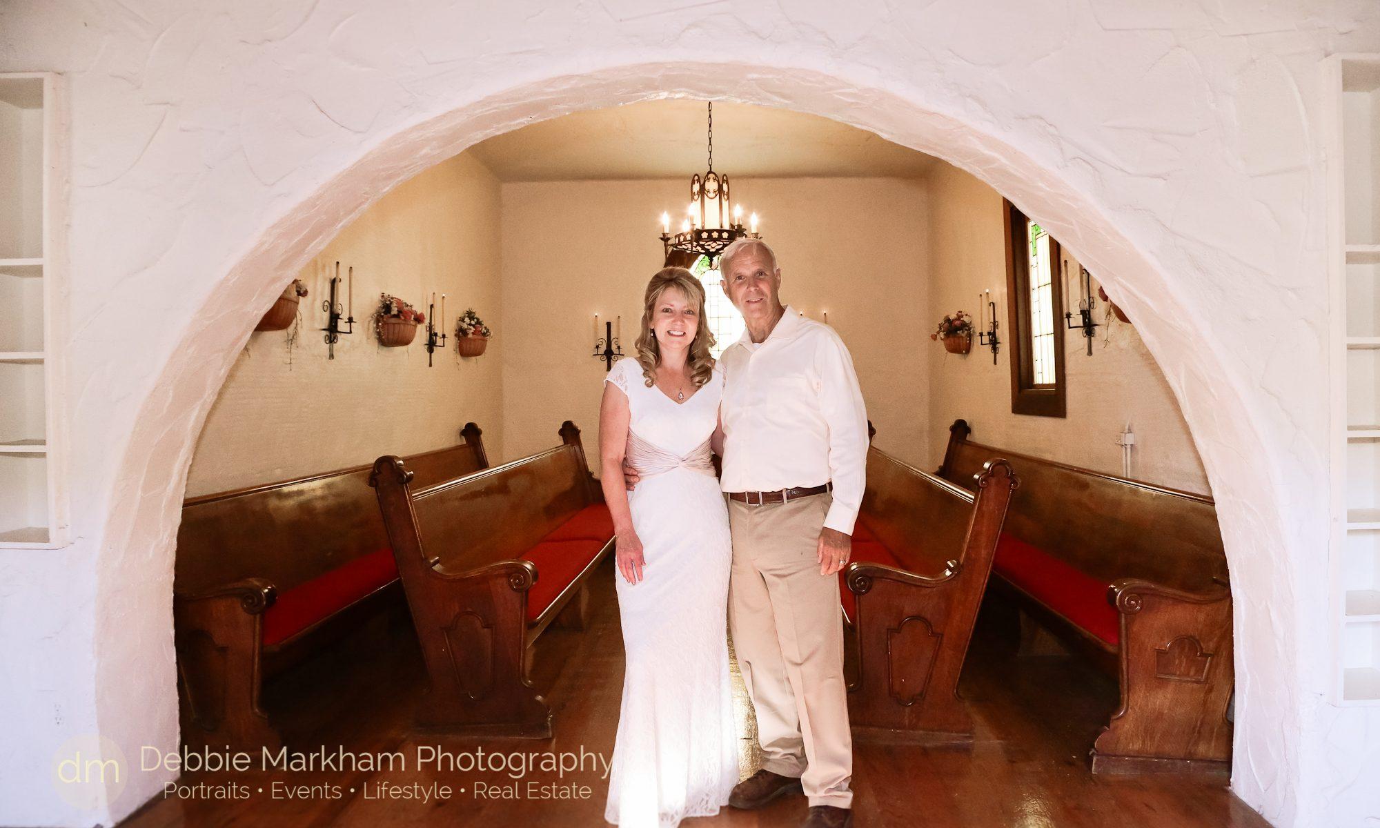 Debbie Markham Photo+Harmony Wedding+Small Town+ Intimate Chapel Wedding
