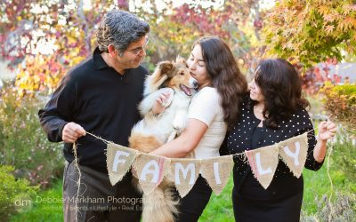 Debbie Markham Photography_Family Portraits_at Home_Outdoors_Family of Three_with Dog_Cambria Photographer_Family Photographer