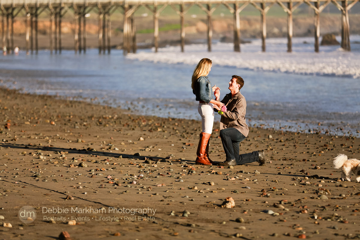Proposal photogrtapher_Beach_Surprise Marriage Proposal_Engagement Photographer_Central Coast_San Luis Obispo-9397