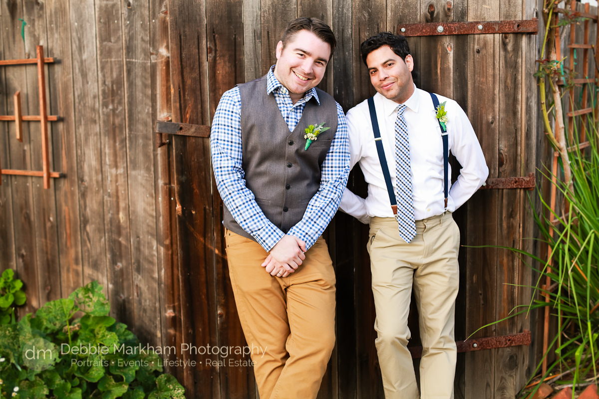 Gay Wedding_Small Wedding_ Small Town Wedding_LGBT Wedding Photographer_Debbie Markham Photography_Cambria CA-0669