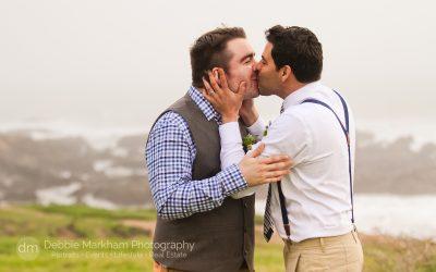 Gay Wedding_Small Wedding_ Small Town Wedding_LGBT Wedding Photographer_Debbie Markham Photography_Cambria CA-2043