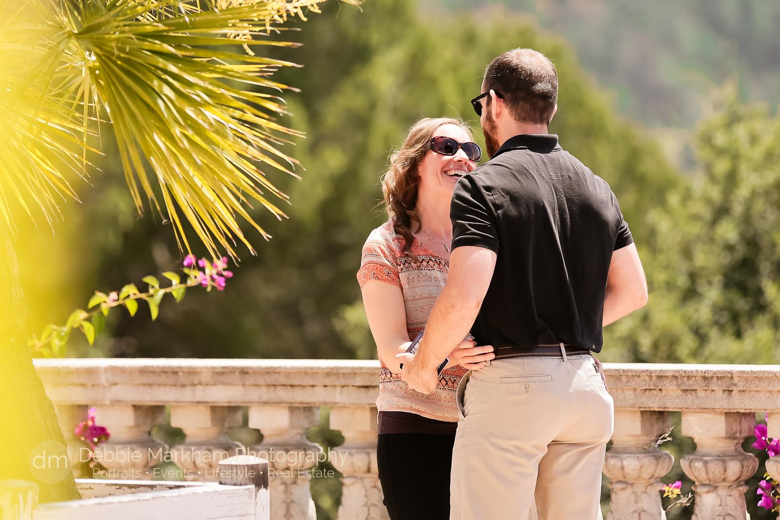 Surprise Proposal at Hearst Castle by Debbie Markham