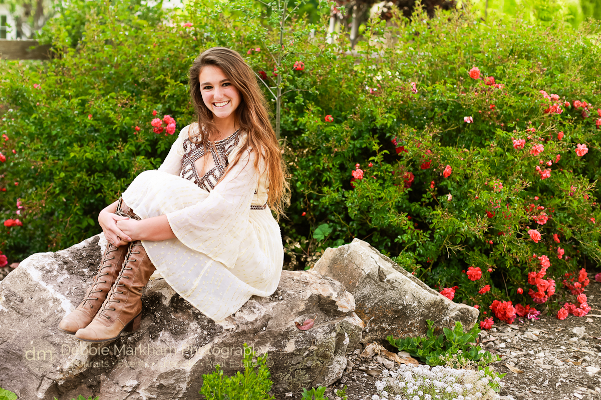 Senior Portrait_Cambria Photographer_Debbie Markham Photography_Outdoor Senior Portrait_Country Road_Small Town