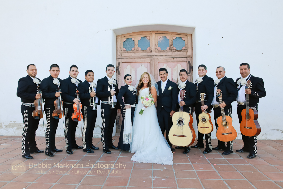 Catholic Wedding at Mission San Miguel_Central California_Destination Wedding_Wedding Photographer_Debbie Markham Photography