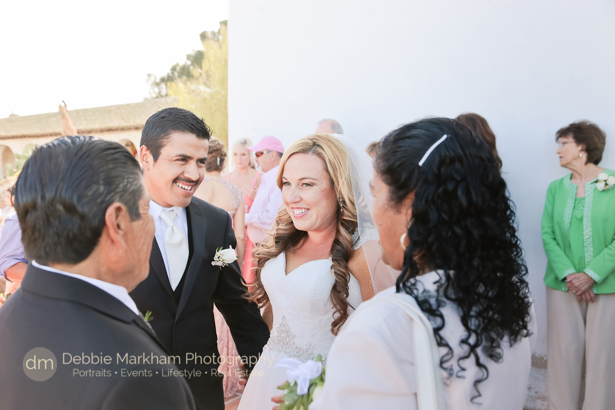 Wedding at Mission San Miguel photos by Cambria Debbie Markham Photography-