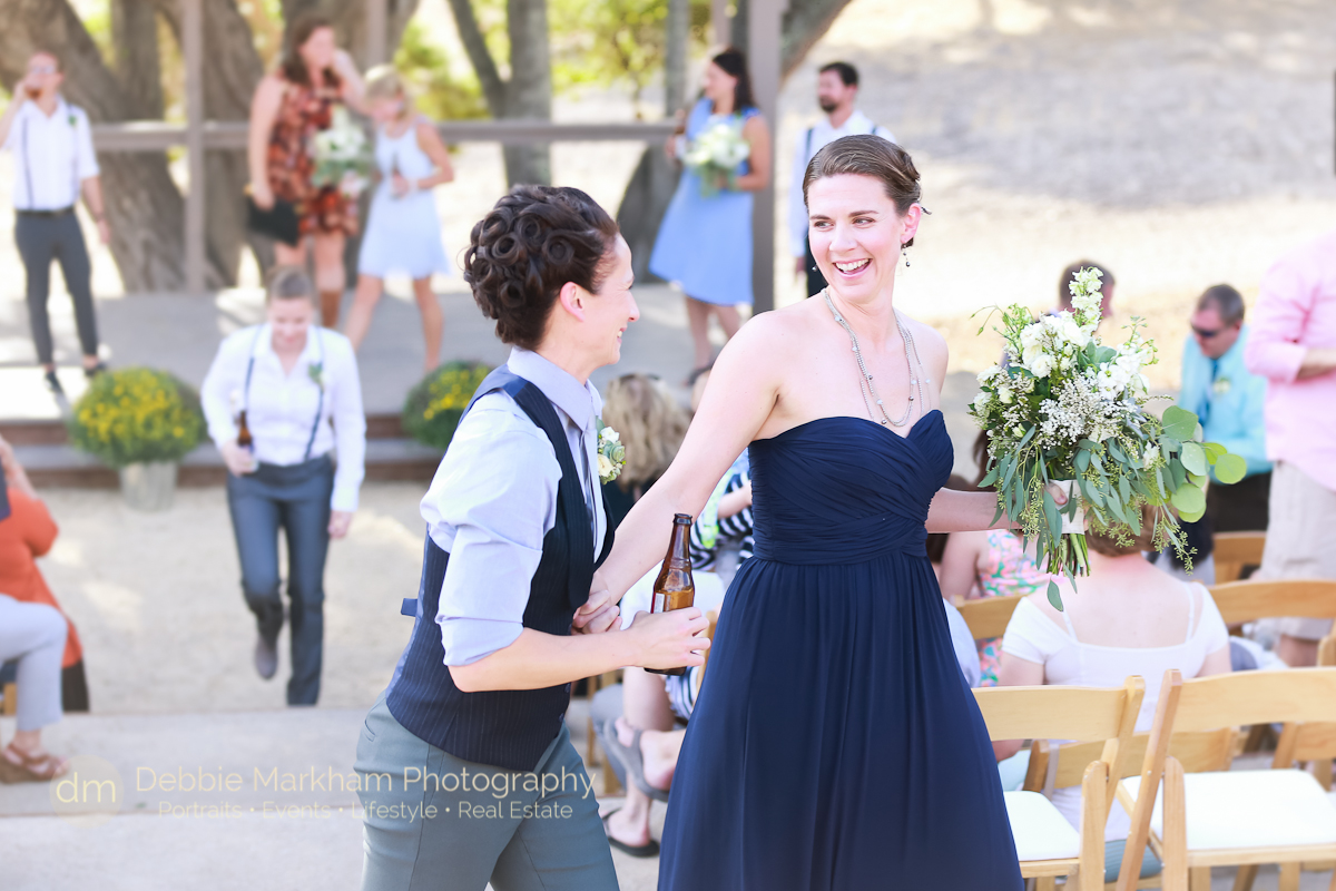 Kissing Two Brides_Navy Wedding Dress_LGBT Wedding_Central Coast_California_Dancing Deer Farm_Templeton_Destination LGBT Wedding-0222