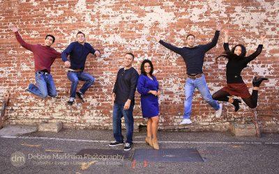 San Luis Obispo Family Photographer_Debbie Markham Photography_Central Coast_California_Fun Holiday Card Photo_Family of six_6-2