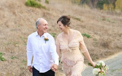 Wedding Portrait_Peach Wedding Dress_Vintage_Bride Groom_Cambria_CA-Destination Wedding_California-6005