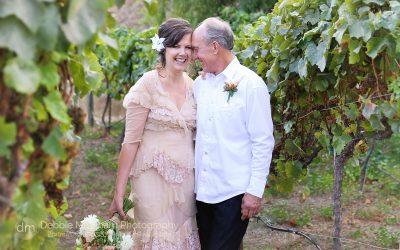 Wedding Portrait_Peach Wedding Dress_Vintage_Bride Groom_Cambria_CA-Destination Wedding_California_Small Wedding