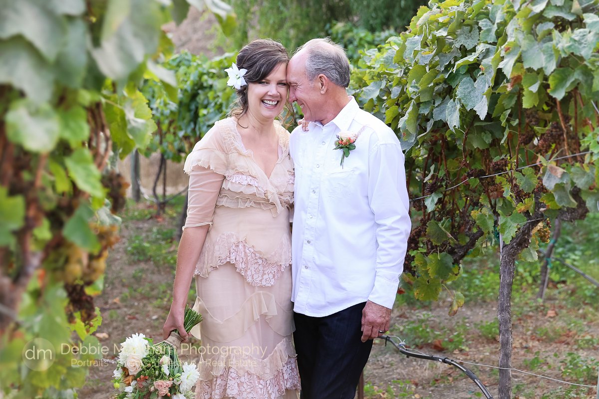 Wedding Portrait_Peach Wedding Dress_Vintage_Bride Groom_Cambria_CA-Destination Wedding_California- Intimate Wedding