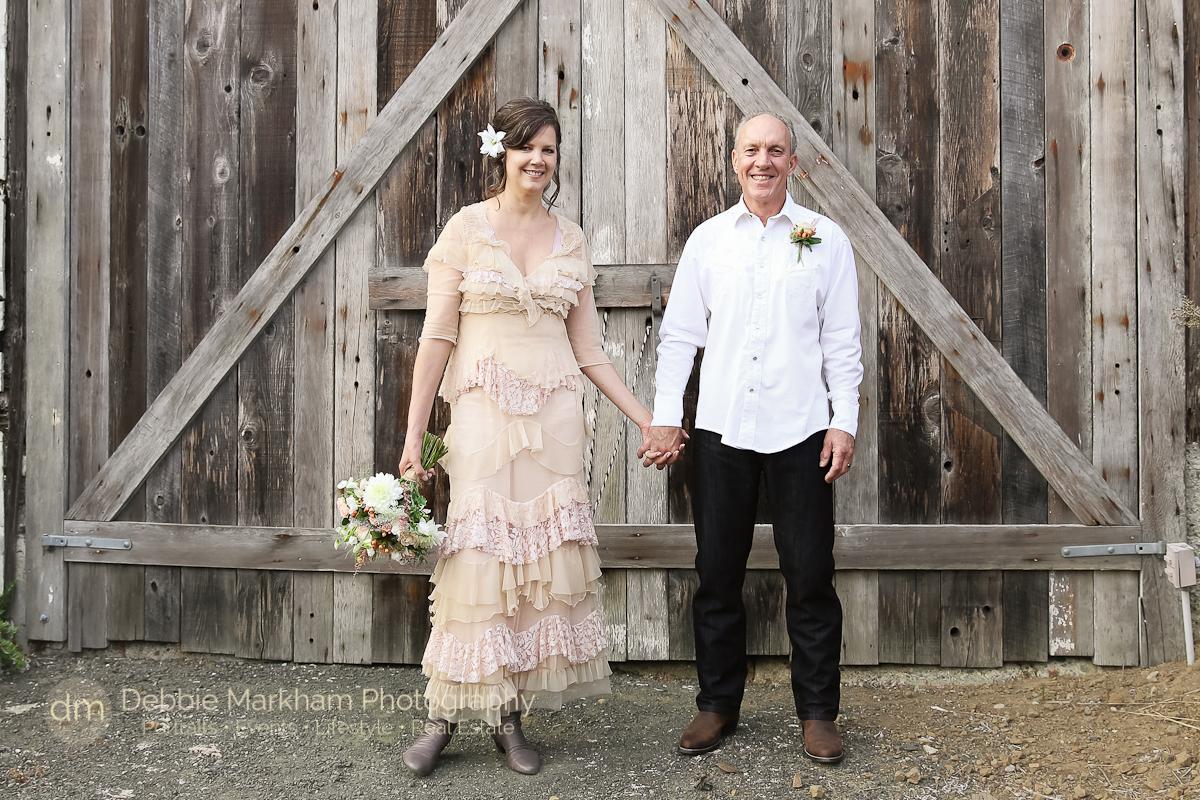 Wedding Portrait_Peach Wedding Dress_Vintage_Bride Groom_Cambria_CA-Destination Wedding_California-6072