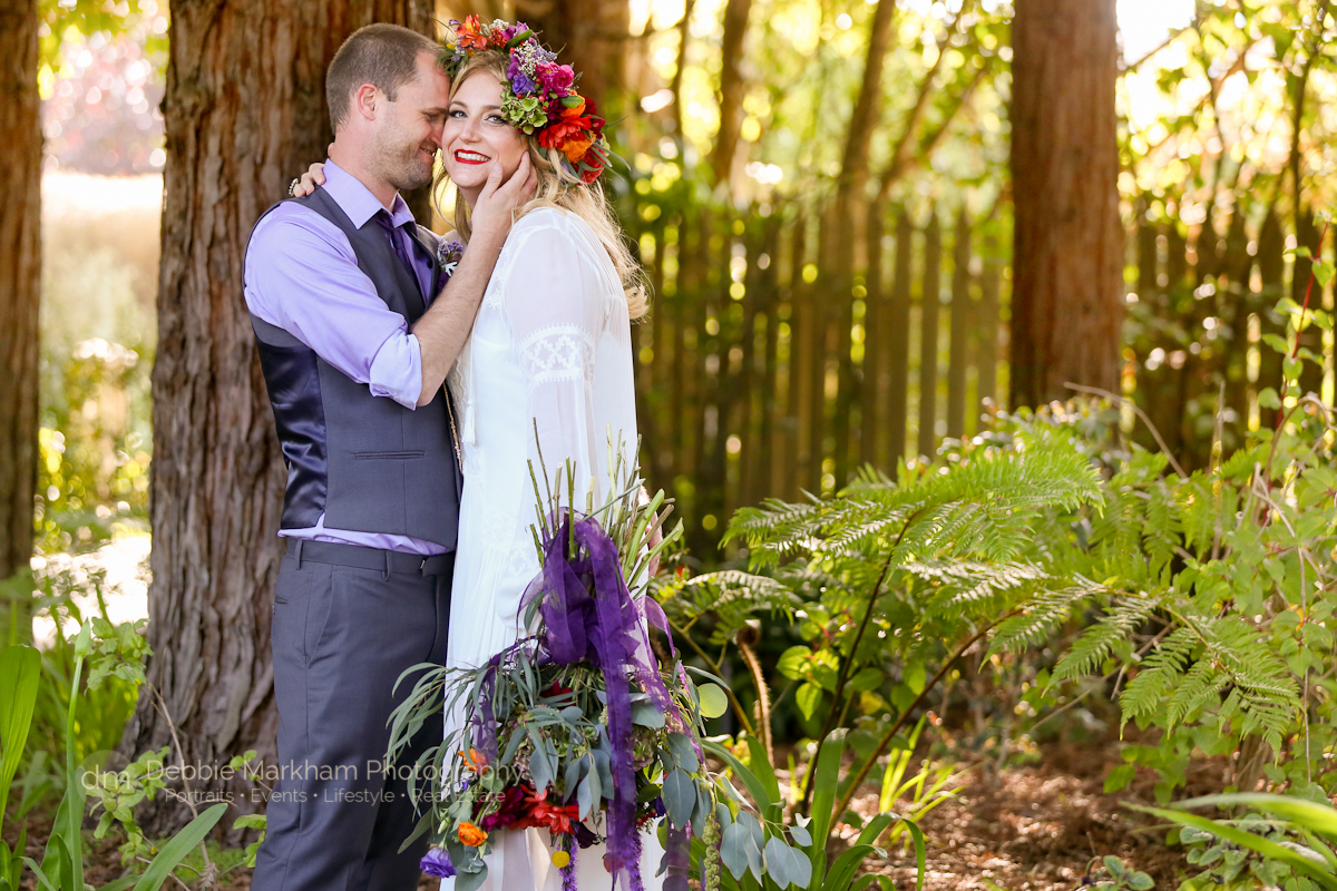 Boho Style Wedding - Cambria Photographer-Debbie-Markham-Photography