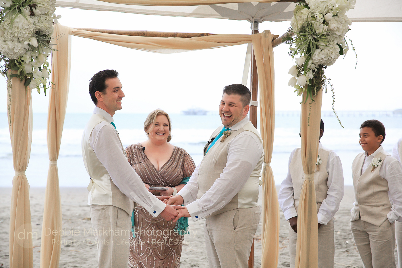 Two Men_wedding_Beach_LGBT_Same-Sex_Gay Wedding_Photographer