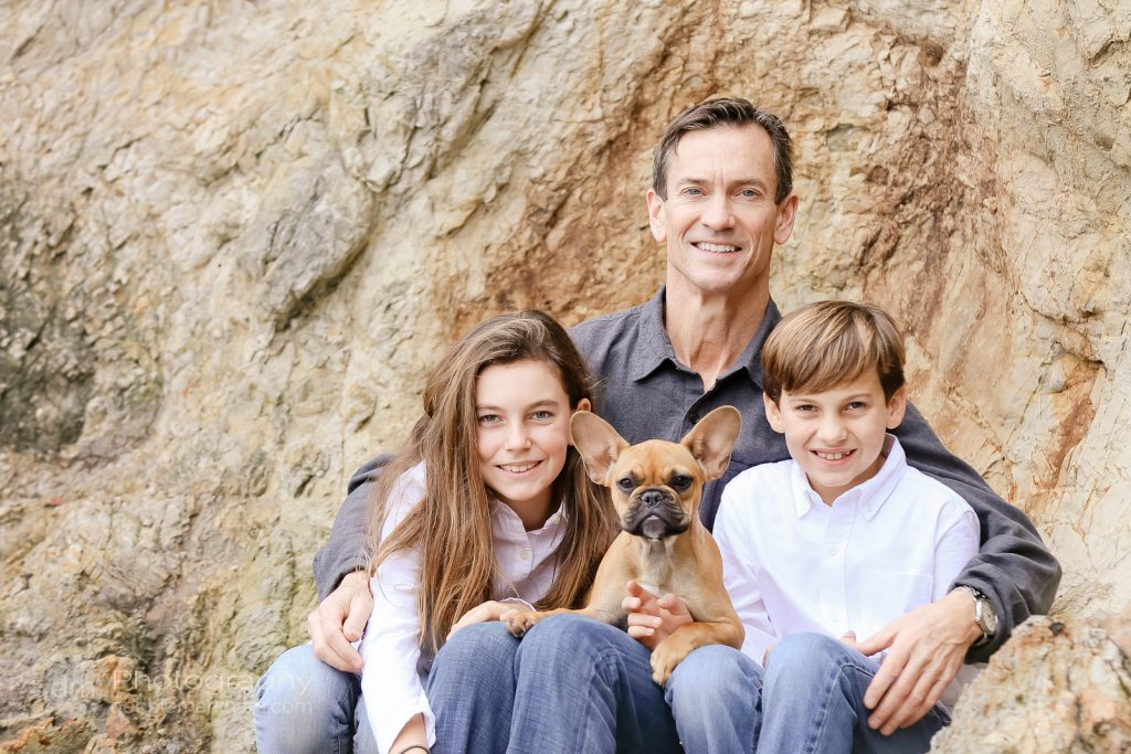 Family Portraits_Hearst State Beach_Small dog_2 kids_dad_photographer_Debbie Markham_Beach-6294