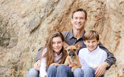 Family Portraits_Hearst State Beach_Small dog_2 kids_dad_photographer_Debbie Markham_Beach-6294