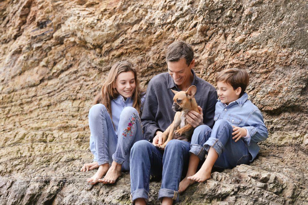 Dog Family Portraits_Family of Three_Debbie Markham Photography