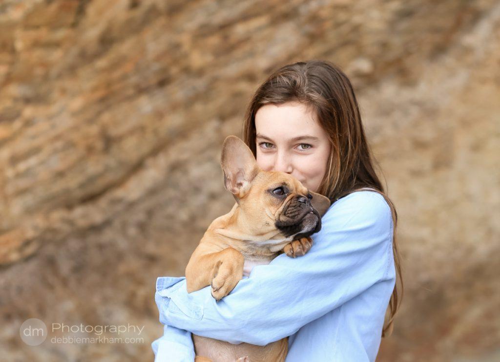 Family Portraits_Hearst State Beach_Small dog_2 kids_dad_photographer_Debbie Markham_Beach-6528