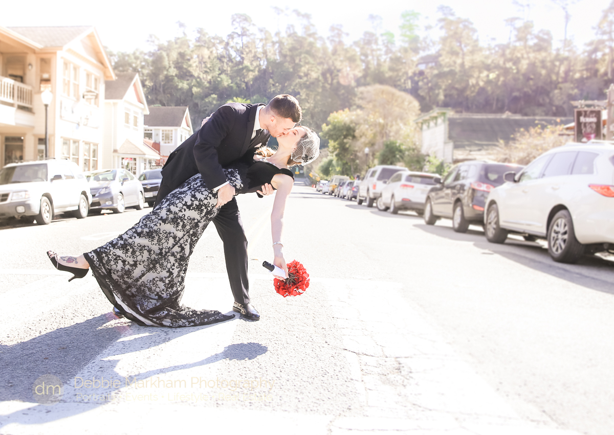 Portraits_Black Dress_Red Flowers_Unconventional_Wedding_Cambria_CA_Central Coast_Photographer_Robin's_Outdoor_Venue-7503