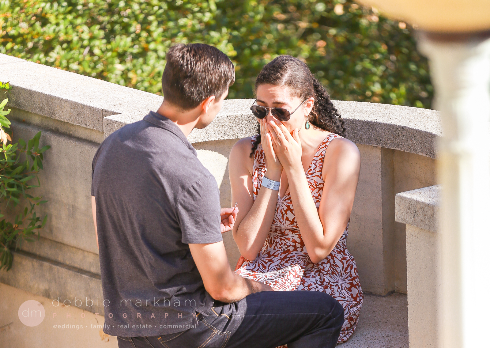 Unique Marriage Proposal Idea - at Hearst Castle