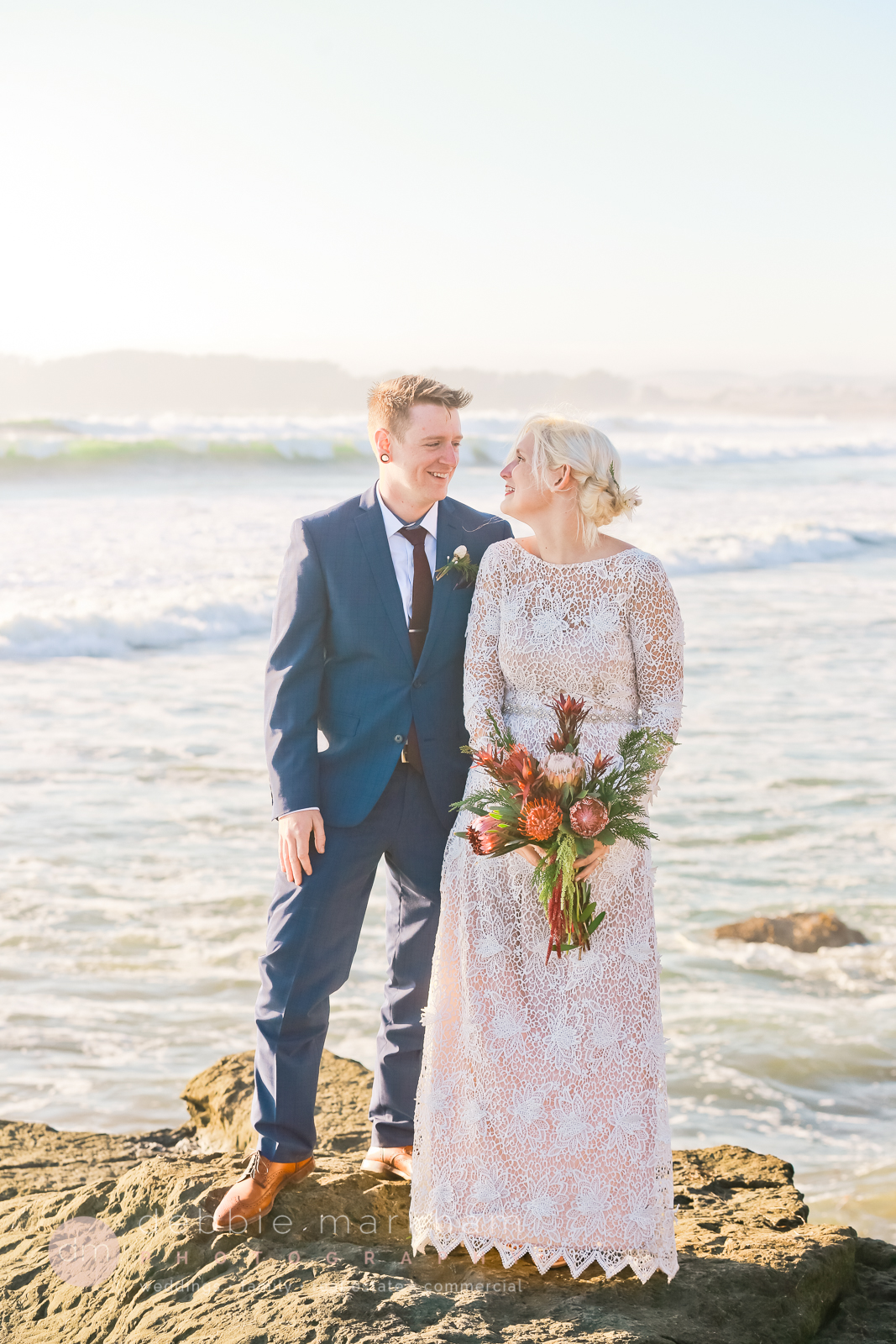 Boho Wedding on Big Sur Cliff-0764