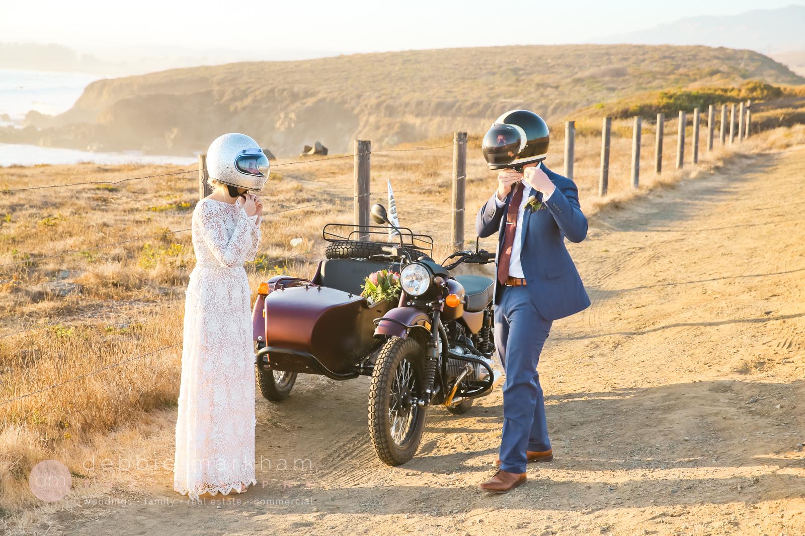 Ocean View, Cliffside Wedding in Big Sur